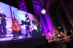 Live-Videoübertragung zum Nina Hagen Konzert in der Stadtkirche Jena