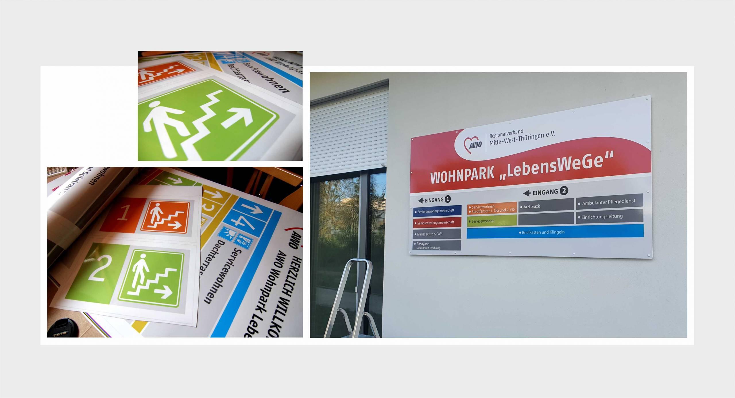 Regionalverband Mitte-West-Thüringen – Objektbeschilderungen